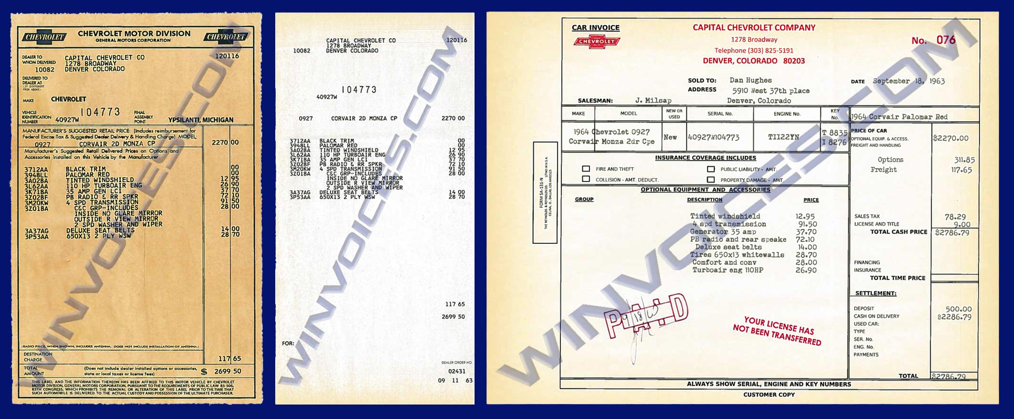 Samples - Gm dealer invoice price